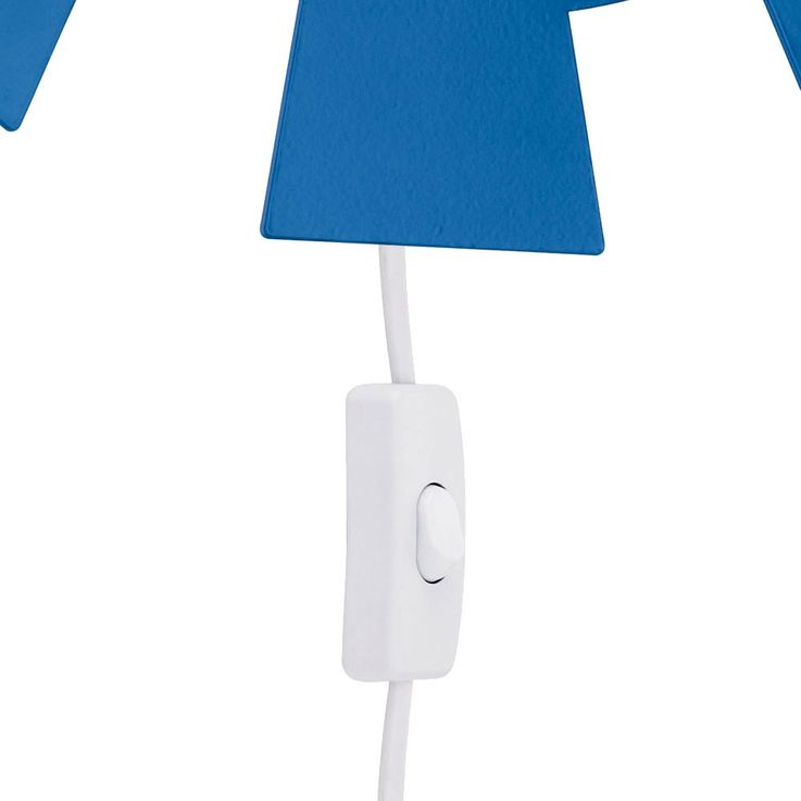 High quality kids room wall lighting cable switch Sun lamp Eglo 92148 – Bild 4