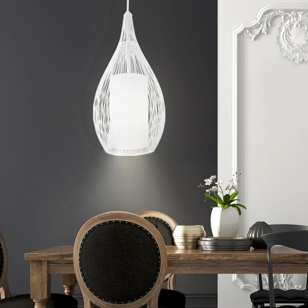 pendellampe wohnzimmer glasschirm h ngeleuchte. Black Bedroom Furniture Sets. Home Design Ideas