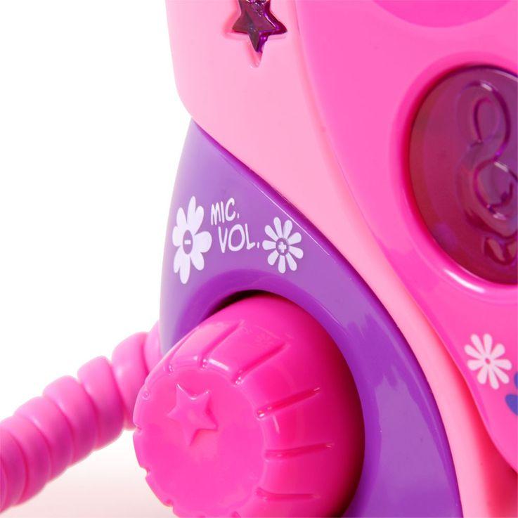 Tragbare Karaokeanlage sing-a-long Kinder CD-Player 2 Mikrofone Bigben CD-47 mit Netzteil – Bild 5
