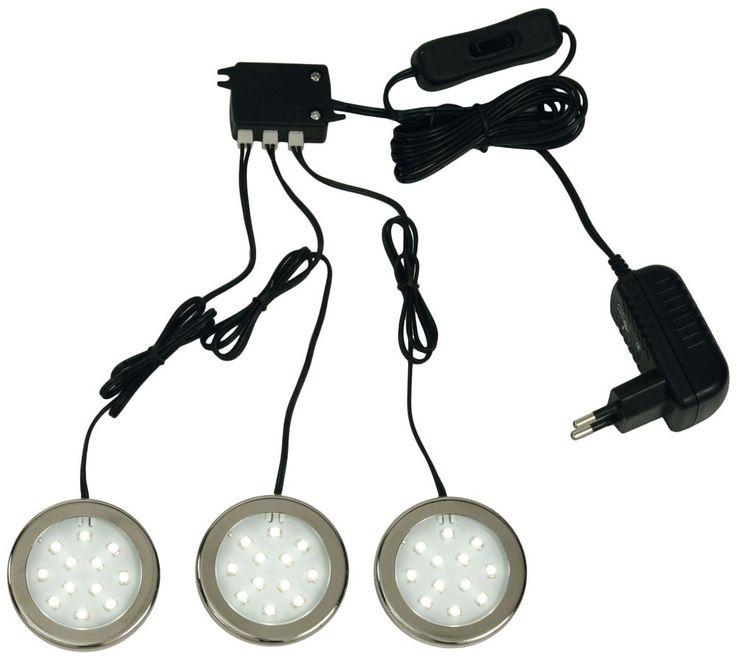 Einbaustrahler 3er Set TRILED inklusive SMD LED-Leuchtmittel – Bild 5