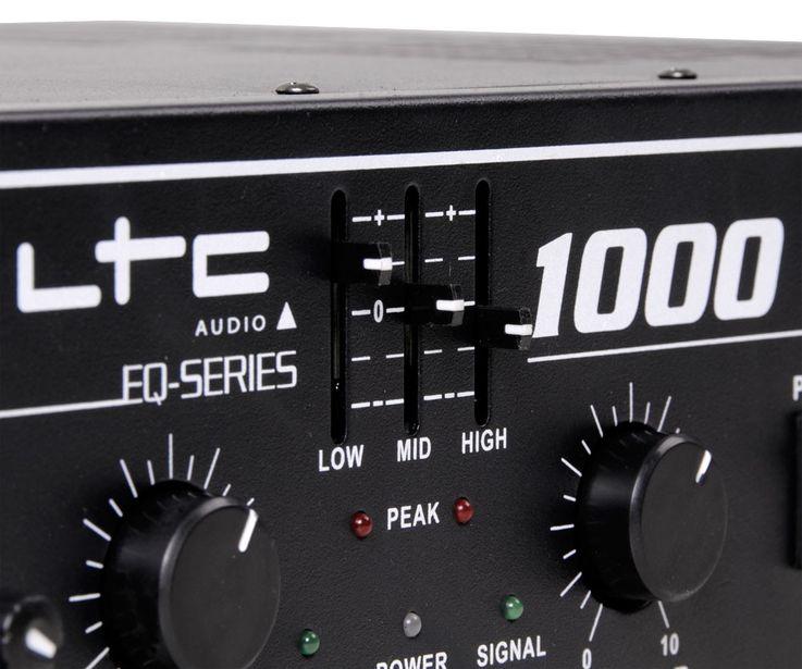 1000 Watt DJ PA Party Verstärker Endstufe Amplifier AUX Line In LTC-1000 – Bild 4