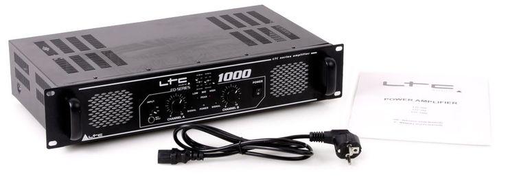 1000 Watt DJ PA Party Verstärker Endstufe Amplifier AUX Line In LTC-1000 – Bild 7