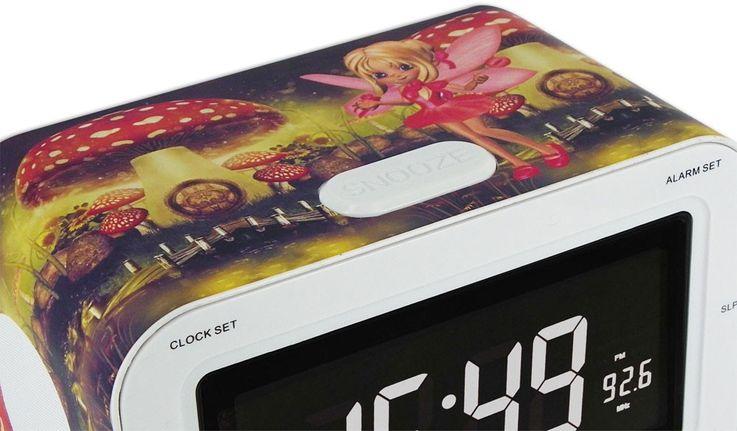 Réveil écran LCD fonction sommeil radio haut-parleur BigBen RR 30 Champi – Bild 2