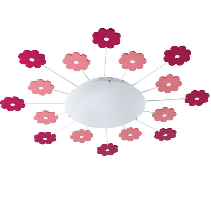 Wall lamp girl game room lighting flowers kids ceiling lamp pink pink Eglo1 92147 – Bild 1