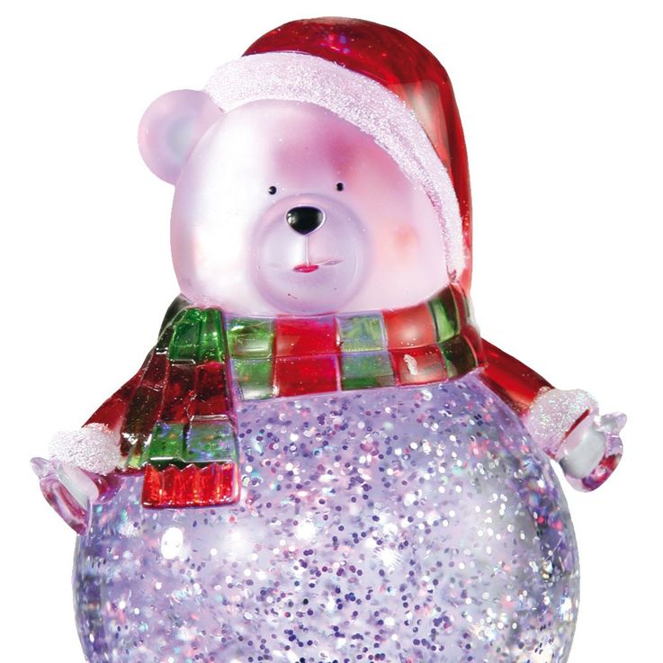 Polar Bear LED Table Lamp Christmas Decoration RGB effect Esto Snowbear 900421 – Bild 3