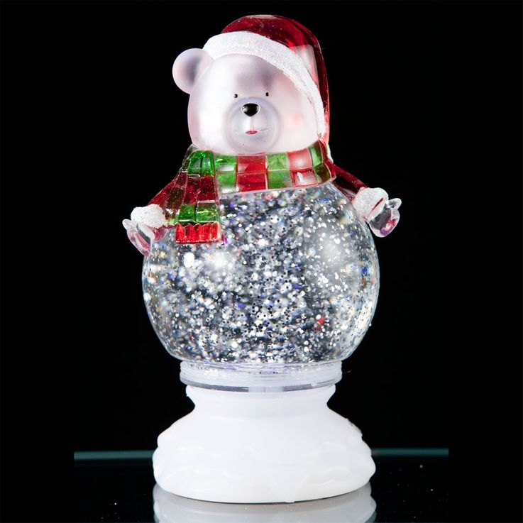 Polar Bear LED Table Lamp Christmas Decoration RGB effect Esto Snowbear 900421 – Bild 5