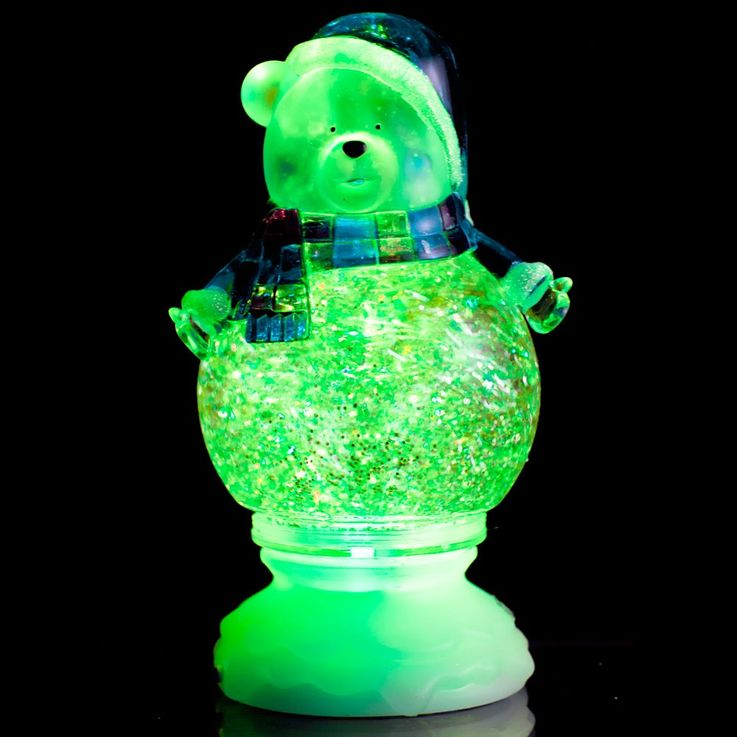 Polar Bear LED Table Lamp Christmas Decoration RGB effect Esto Snowbear 900421 – Bild 6