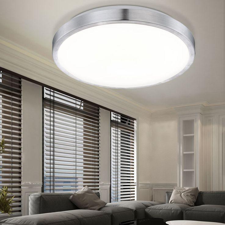 LED 22W Deckenlampe Deckenleuchte Deckenbeleuchtung  Lampe Leuchte Globo ROBYN 41687 – Bild 2