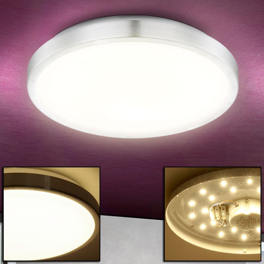 klassische led deckenlampe im runden opal schirm robyn. Black Bedroom Furniture Sets. Home Design Ideas