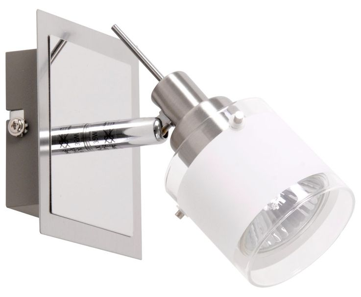 Wall-ceiling spot lighting GU10 halogen lamp light chrome variant ASOLA – Bild 3