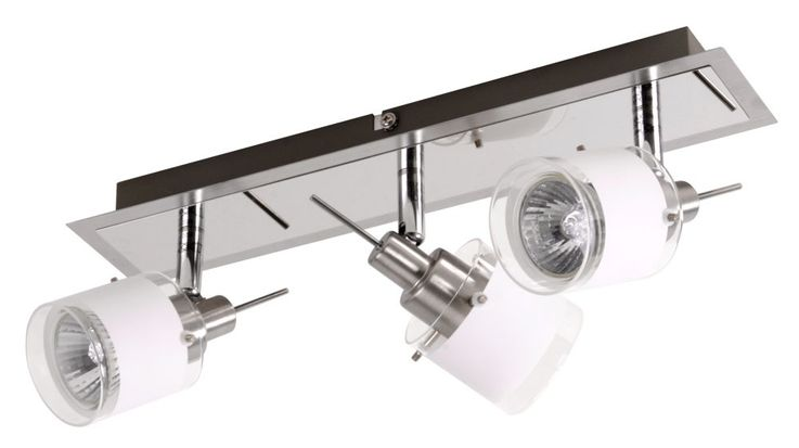 Wall-ceiling spot lighting GU10 halogen lamp light chrome variant ASOLA – Bild 5