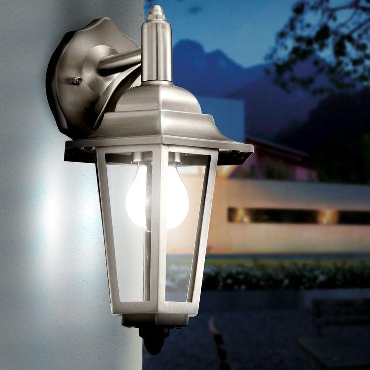 Applique extérieure luminaire mural acier inoxydable jardin terrasse lanterne – Bild 2