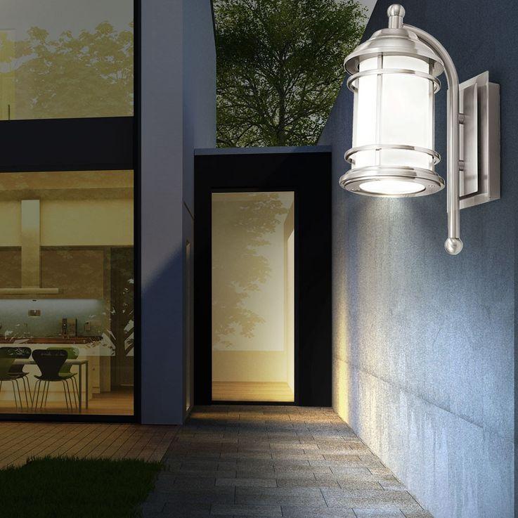 Mur façades Projecteur d'extérieur éclairage inox terrasses parc noble Eglo 90208 – Bild 8