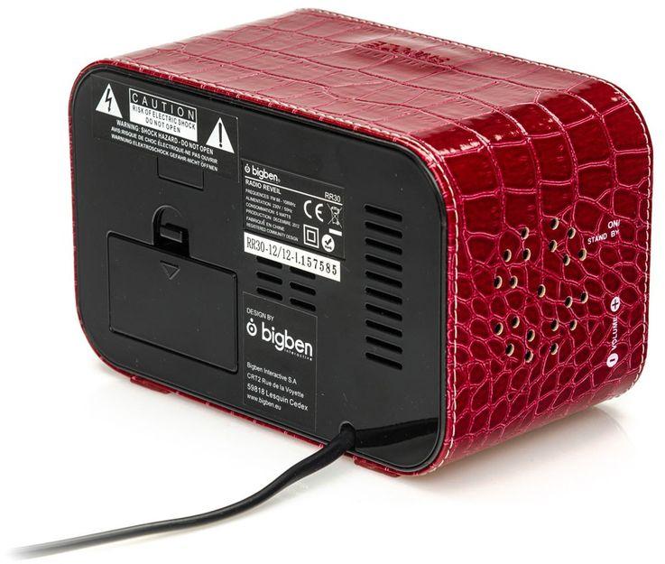Kinder Radio Wecker LCD-Display Schlummerfunktion Lautsprecher Radio BigBen RR 30 LTR – Bild 4