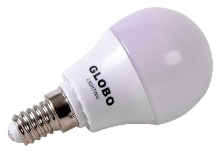 Set of 4 LED bulbs energy saving 3 watts matt globe bulb E14 Globo 10768_4 – Bild 2