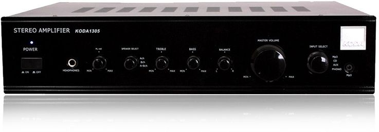 Amplifier Amplifier Stereo Hifi Amplifier System Amp MP3 CD AUX  Koda 1305 – Bild 1