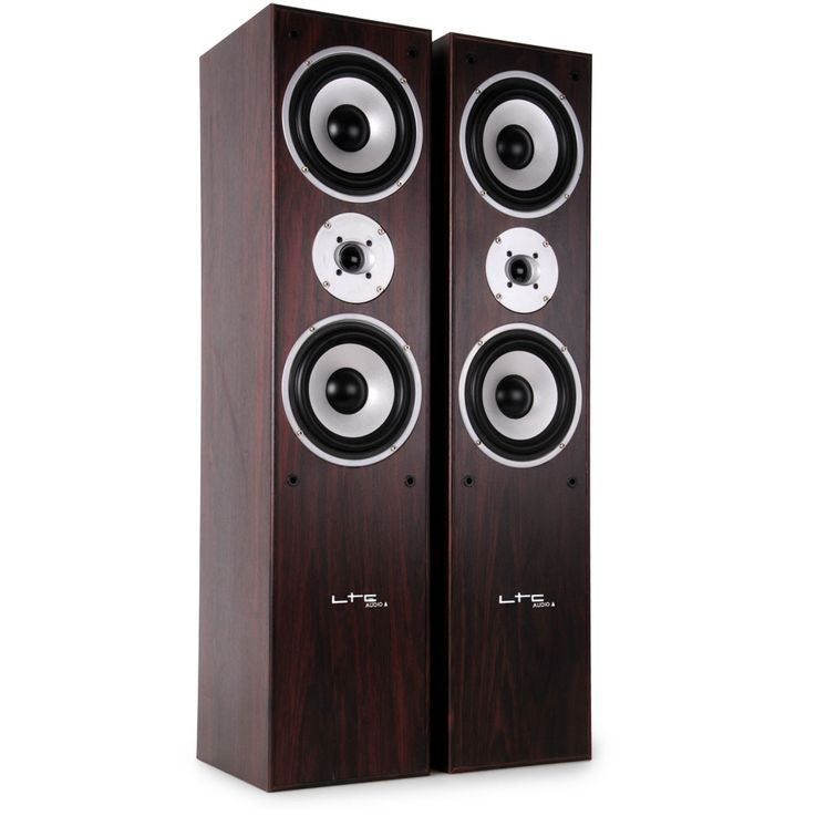 Hifi Home Theater Floorstanding Speakers Speakers 500W PAIR 3-Way Bass  Boxes L766  -WA – Bild 1