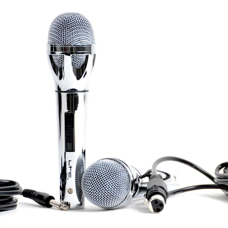 Karaoke Set 2 Speakers 2 Microphones MP3 Amlifier LTC Karaoke STAR4 – Bild 2