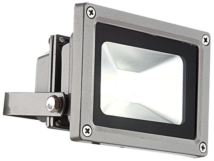 LED outdoor floodlights driveway garden lighting aluminum housing industrial design 10 watt spotlight IP65 Globo 34107 – Bild 1