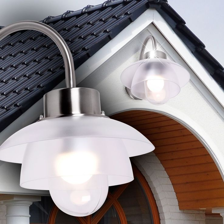 Applique LED 6 Watts luminaire mural extérieur jardin terrasse IP44 éclairage – Bild 6