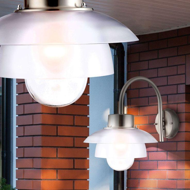 Applique LED 6 Watts luminaire mural extérieur jardin terrasse IP44 éclairage – Bild 2