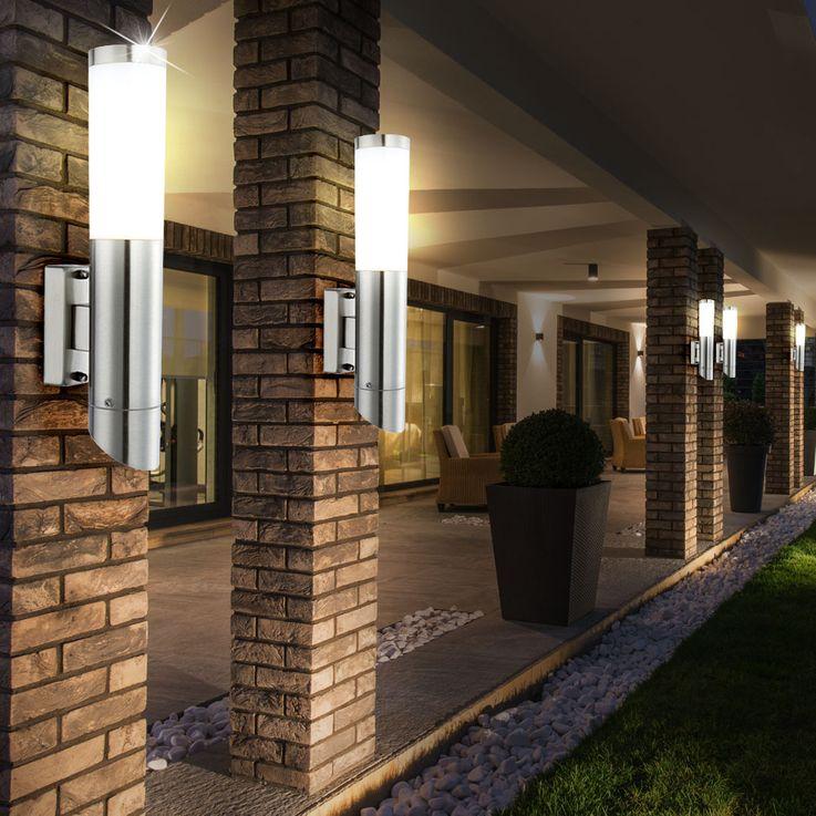 Außen Leuchte Lampe Licht Beleuchtung Garten Wand Terrasse Globo DACIA 31578 – Bild 7
