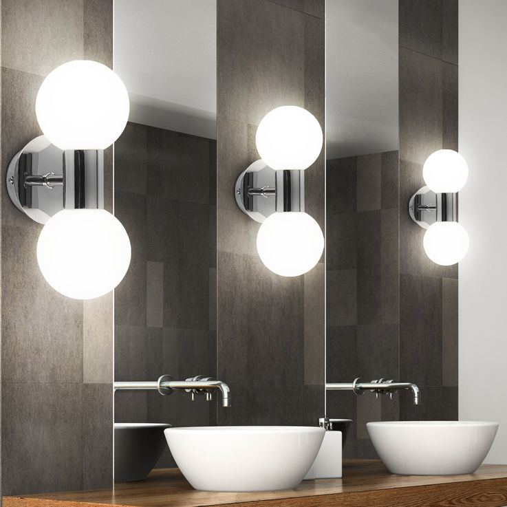 Wall lamp Bathroom light lighting fixture lamp bathroom wall light Globo 41522-2 – Bild 3