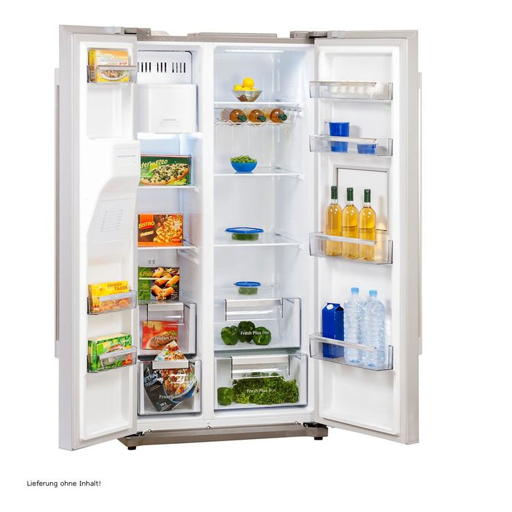 Side by Side refrigerator-freezer combination CRUSHED ICE bar compartment A++ Daewoo FRN-Q 19 FACQ – Bild 2