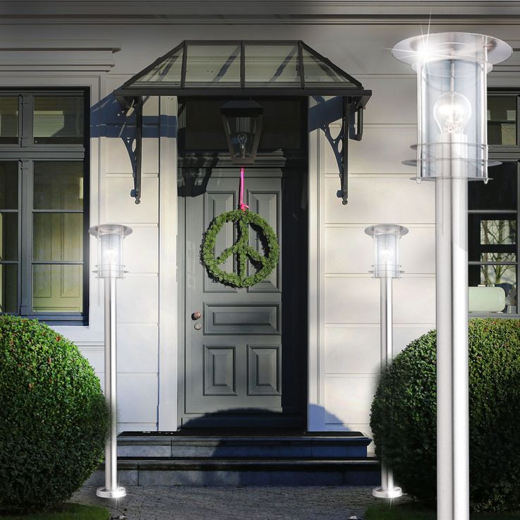 Outdoor lamp floor light lamppost garden lighting lantern Globo Miami 3154 – Bild 9