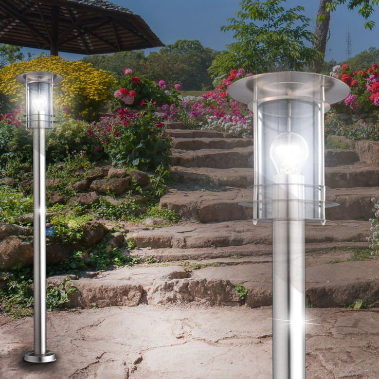 Outdoor lamp floor light lamppost garden lighting lantern Globo Miami 3154 – Bild 7