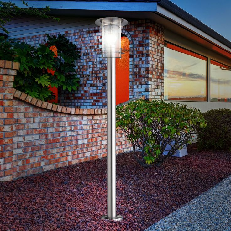 Outdoor lamp floor light lamppost garden lighting lantern Globo Miami 3154 – Bild 3