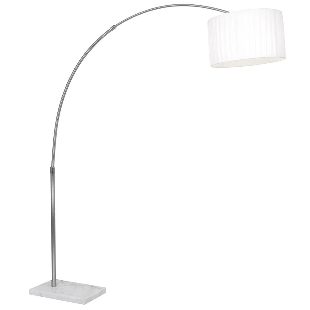 RGB LED Chrom Steh Lampe dimmbar Arbeits Zimmer Bogen Leuchte FERNBEDIENUNG