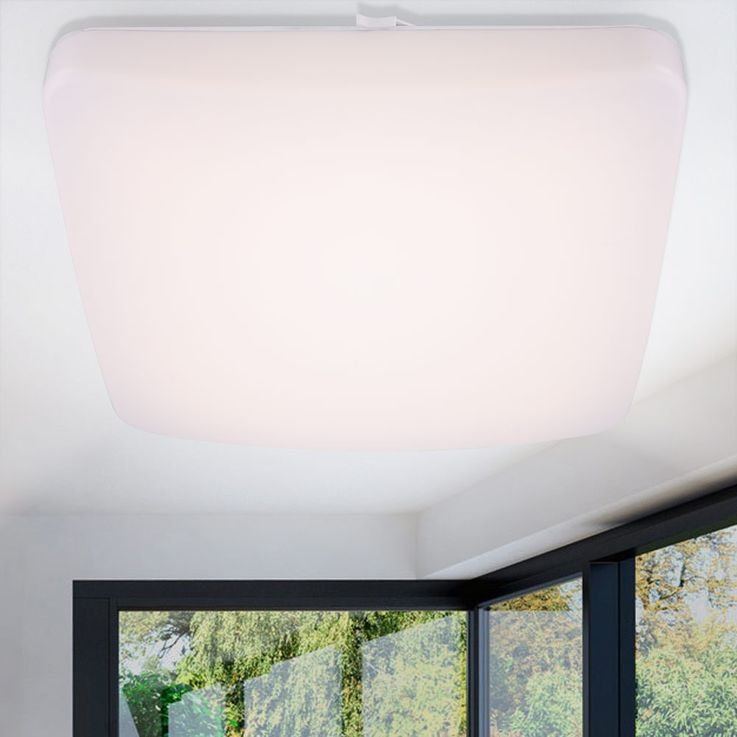 Modern LED Downlights in white metal – Bild 3