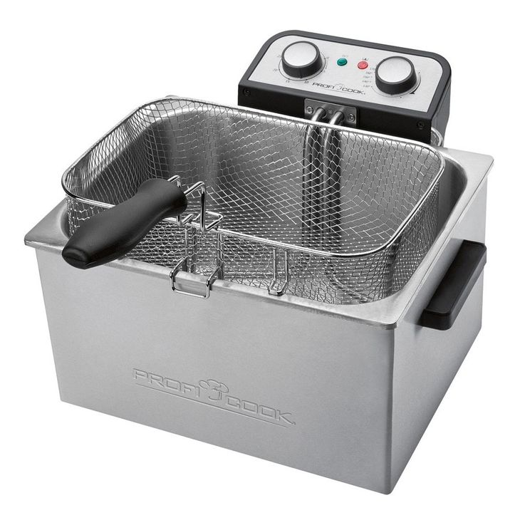 3000 watt Twin fryer stainless steel fryer Proficook PC FR 1038 – Bild 3