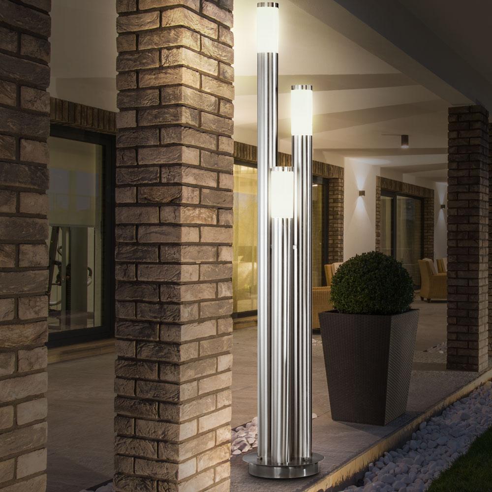 [Paket] LED 20 Watt Außenlampe Gartenleuchte IP20 Außenbeleuchtung  Terrassen Licht Hof   ETC Shop