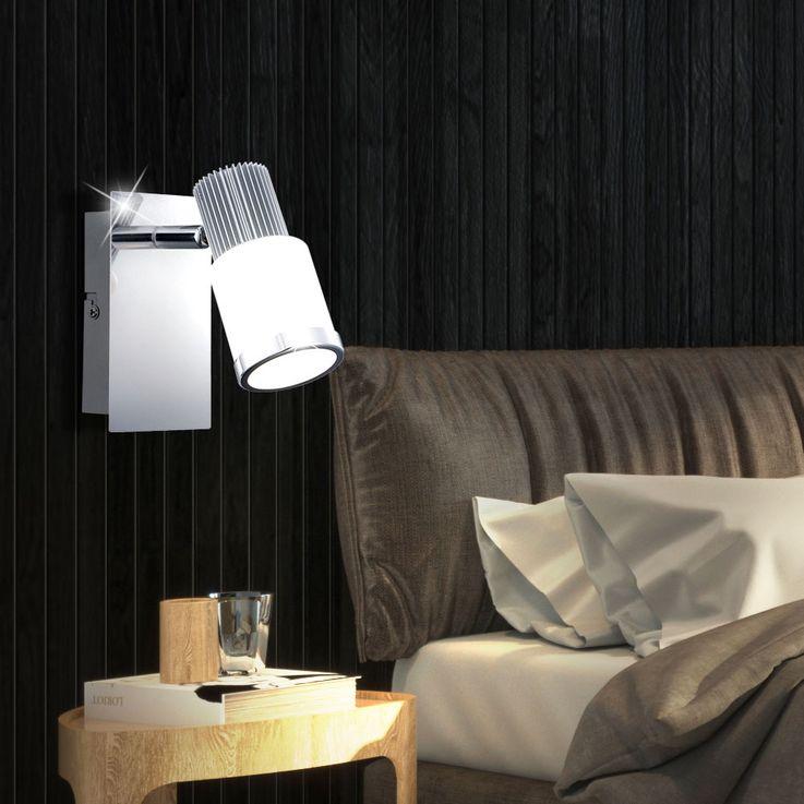 Moderne LED Wandleuchte mit beweglichem Strahler RIVIERA – Bild 2