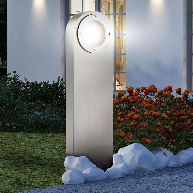 High quality floor lamp Outdoor lighting Stainless steel IP44 Floor lamp Spotlight Globo 31602 – Bild 8