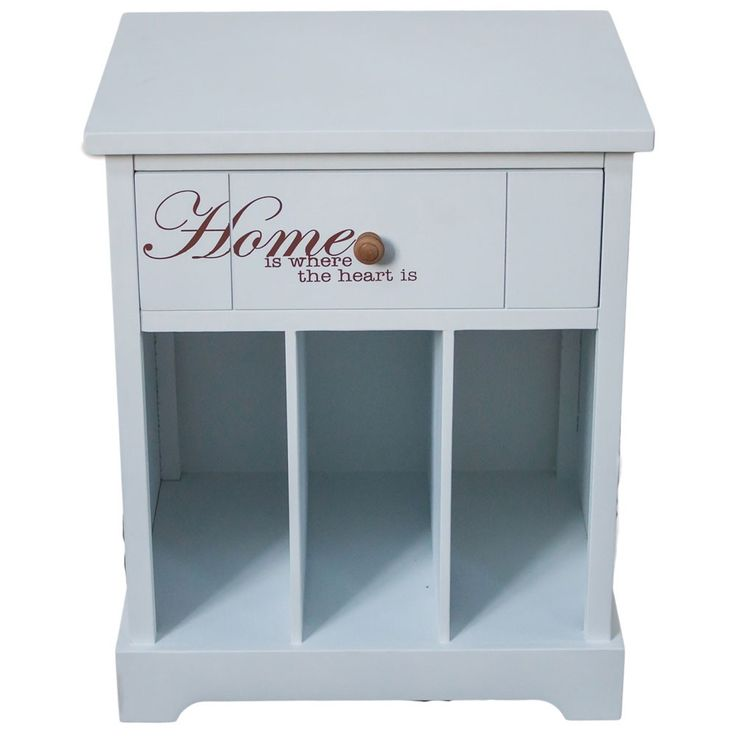 1 dresser drawers white lettering cabinet shelf furniture 50 kg load capacity BHP B421369 Home – Bild 1