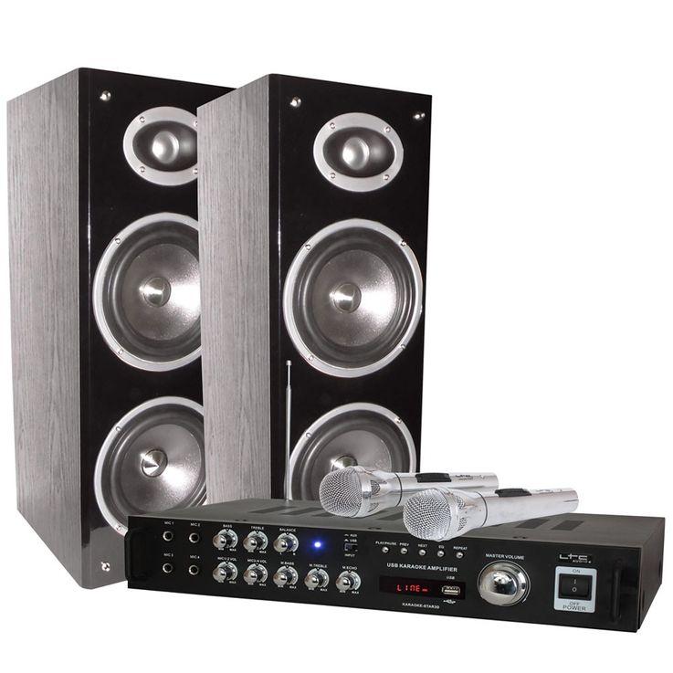 Vielseitiges Bluetooth Karaoke Set USB MP3 STAR 3D-BT – Bild 1