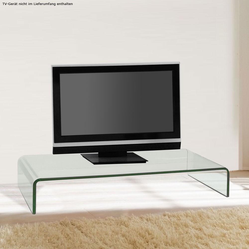 modern fernseh tisch monitor aufsatz tv ablage gebogen glastisch wohnzimmer edel ebay. Black Bedroom Furniture Sets. Home Design Ideas