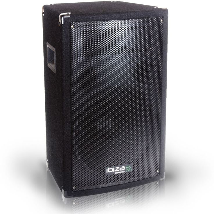 800 watt 3-way bass reflex PA speaker boxes Disco DJ DISCO boxes 10B PAIR – Bild 2