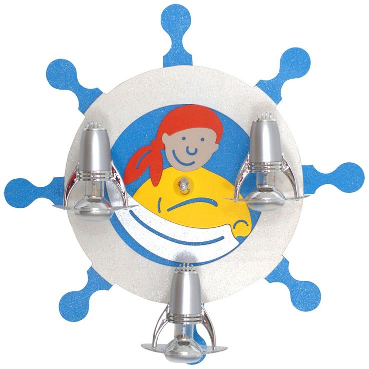 Kids lamp Kids Lighting Kids Room Kapitano wall and ceiling spotlight – Bild 1