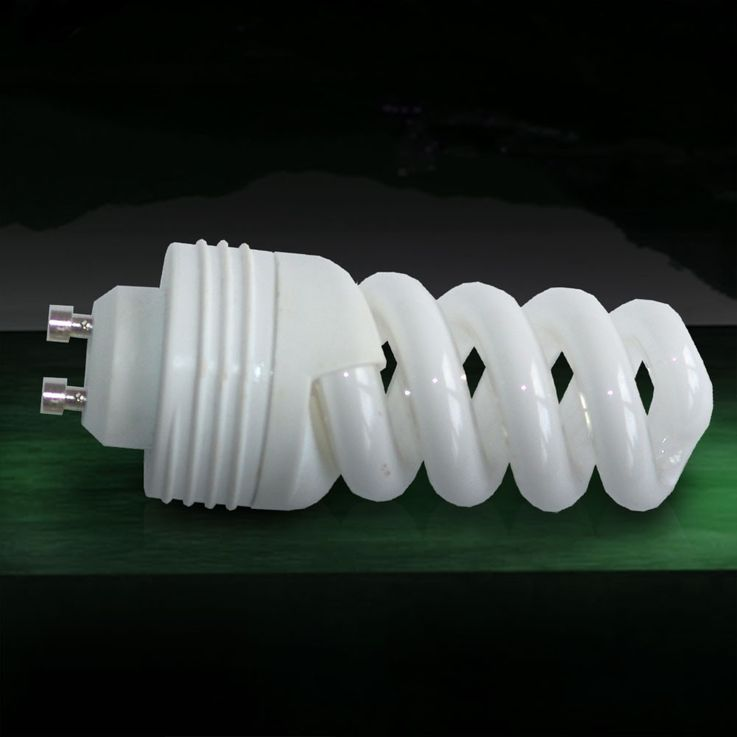 11W GU10 energy saving bulb 2700K 650lm threaded ESTO 89715 – Bild 2
