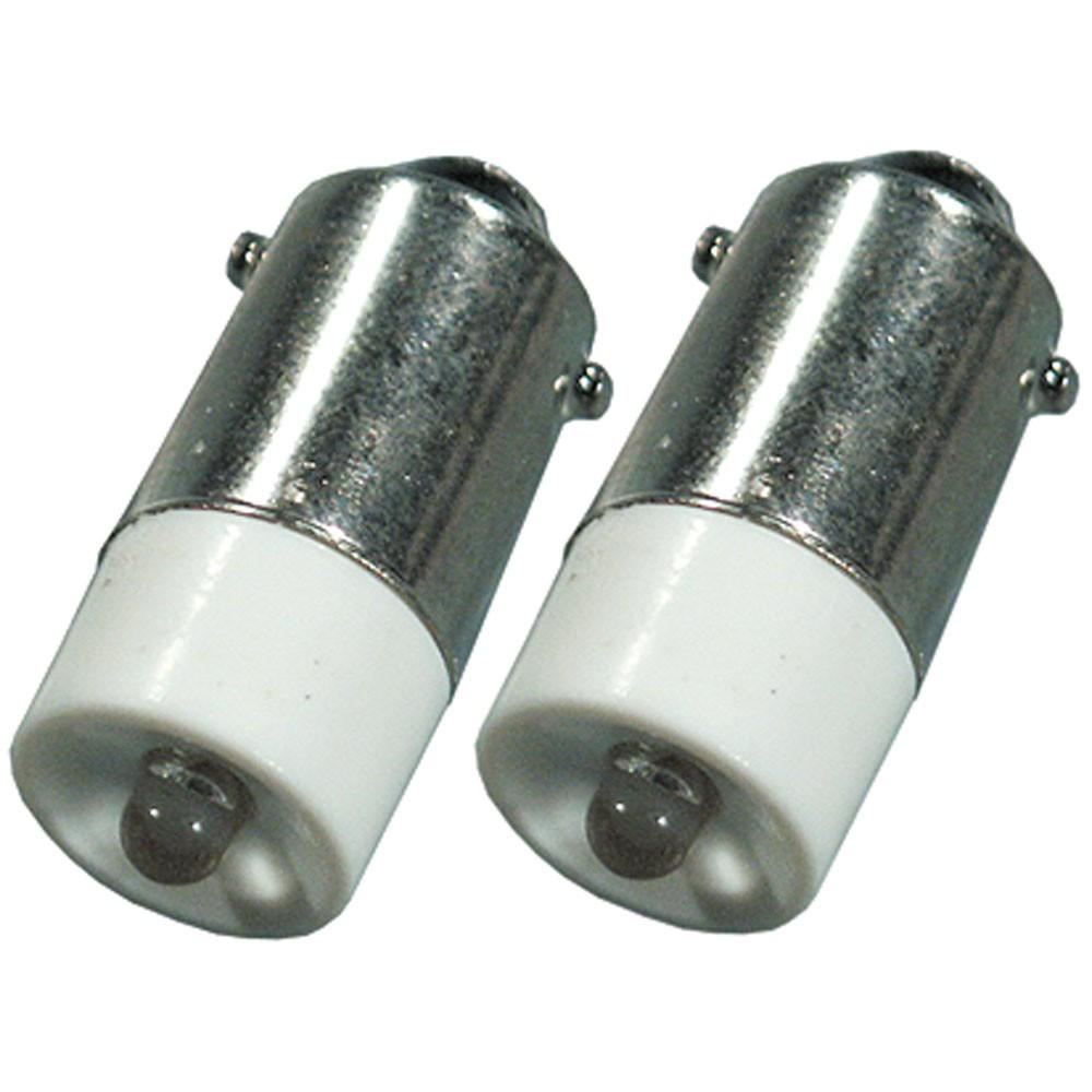 2er Pack BA9s LED-Leuchtmittel mit weißen Licht