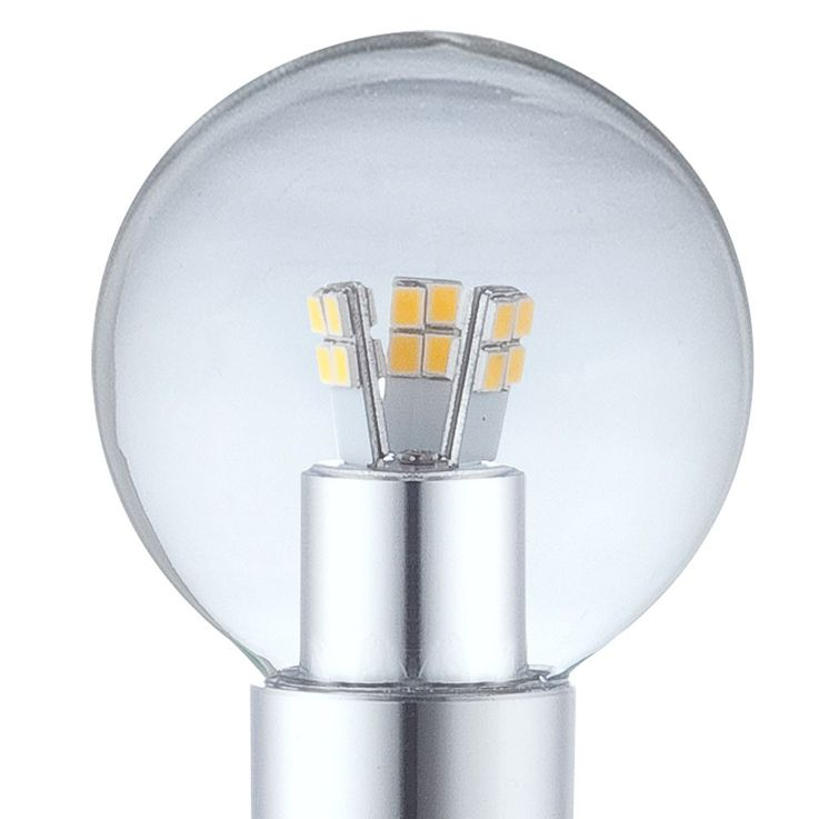 E14 3W SMD LED bulbs 3000K 250lm Globo 10752 – Bild 3
