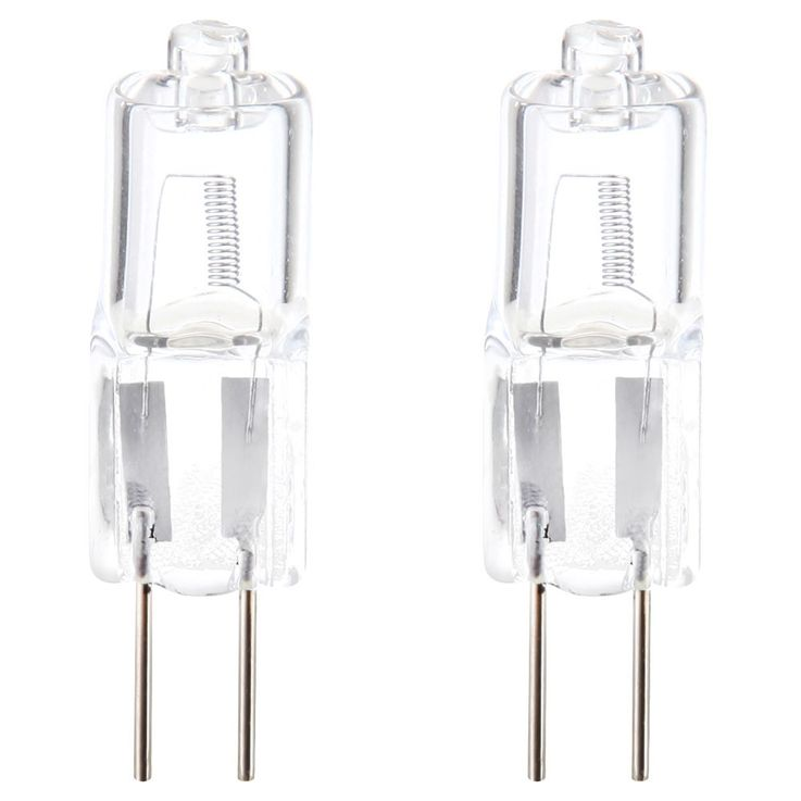 2 Pack 10W G4 halogen bulbs with 120lm – Bild 1