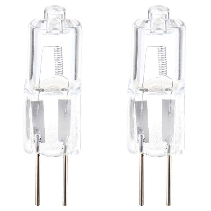 2 x lampe ampoule 20 watts G4 agent lumineux halogène 2700K 330lm Globo 1020 – Bild 1