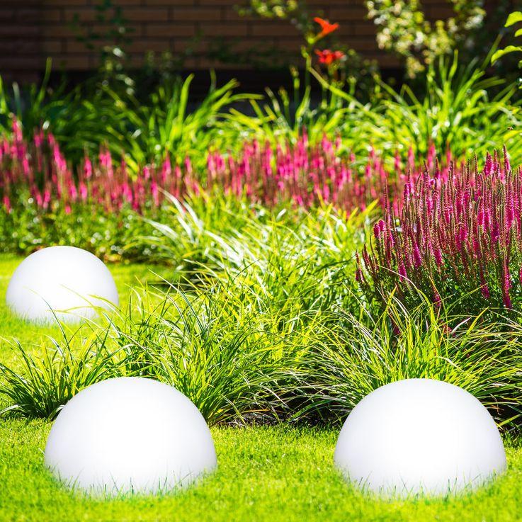 LED Solarleuchte Kugelform Außenleuchte Außenbereich Gartenleuchte Lampe Leuchte Globo 33776 – Bild 16