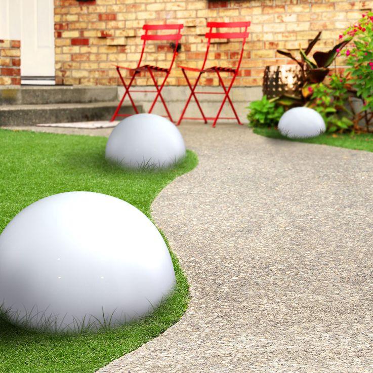 LED Solarleuchte Kugelform Außenleuchte Außenbereich Gartenleuchte Lampe Leuchte Globo 33776 – Bild 18