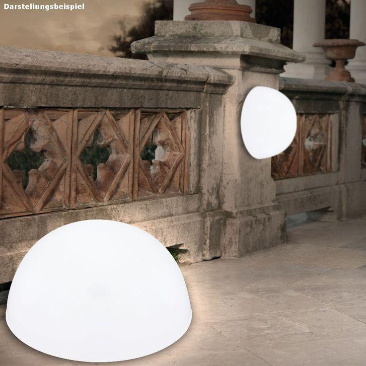 LED Solarleuchte Kugelform Außenleuchte Außenbereich Gartenleuchte Lampe Leuchte Globo 33777 – Bild 17